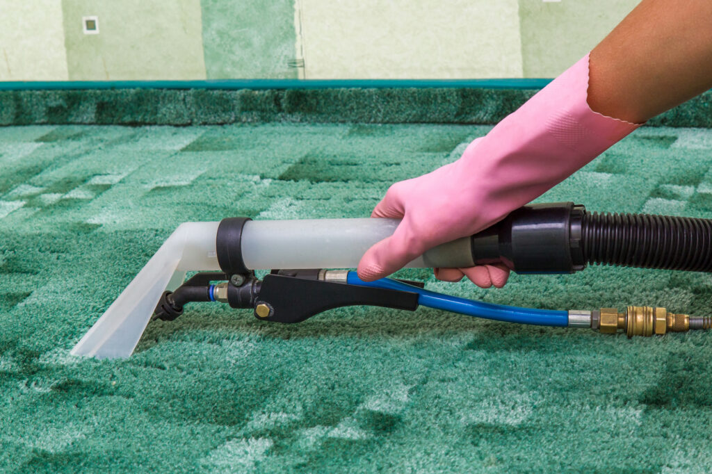 Cleaning Green Carpets