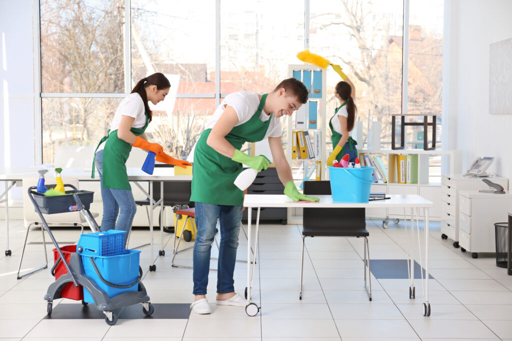 Cleaning Service Team